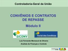 Curso Convênios e Contratos de Repasse: Novo
