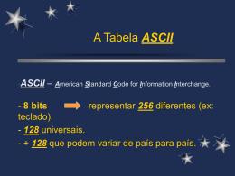 ascii - ESEV