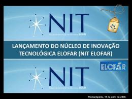 R$ 1,5 milhões Pesquisa Científica e Tecnológica
