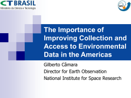 The Importance of Improving Access to Environmental Data in the