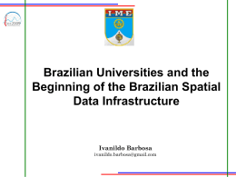 Brazilian Universities and the Beginning of the Brazilian