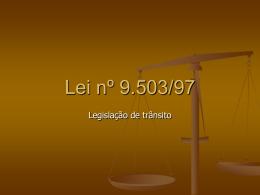 Lei nº 9.503/97