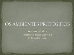 AMBIENTES PROTEGIDOS