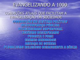 EVANGELIZANDO A MIL