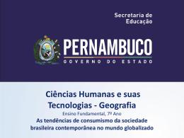 As tendências de consumismo da sociedade brasileira