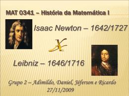 Newton x Leibniz