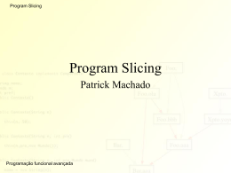 Program Slicing