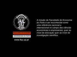 cursos - FEP - Universidade do Porto