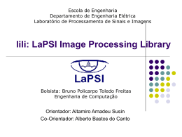 Lili2 LaPSI Image Processing Library