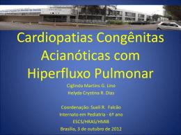 Cardiopatias congênitas acianóticas com