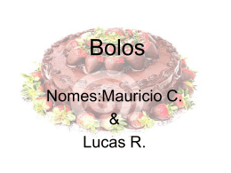 Bolos - WordPress.com