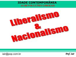 as revoluções liberais