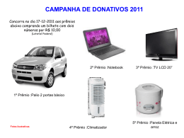 campanha de donativos 2011