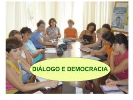diálogo e democracia proposta de trabalho da nova