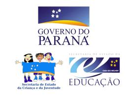 Apresentação Projovem Urbano Paraná - PPT