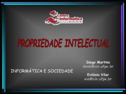 PropriedadeIntelectual - Centro de Informática da UFPE