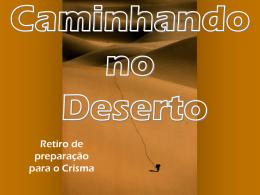 Caminhando no Deserto - Material de Catequese