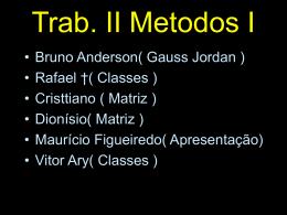 Johann Carl Friedrich Gauss - metodos-numericos-1-trabalhos-2009