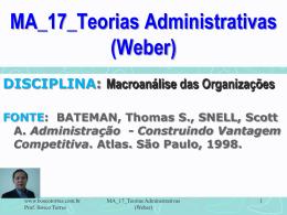 MA_17_Teorias_Administrativas_WEBER