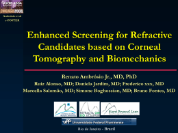 Enhanced Screening for Refractive Candidates