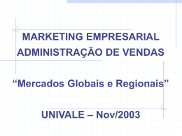 MARKETING INTERNACIONAL PARA PEQUENAS