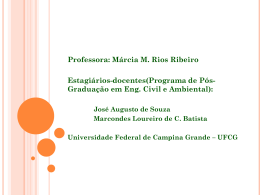 Slide 1 - Universidade Federal de Campina Grande