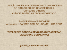 UNIJUÍ - UNIVERSIDADE REGIONAL DO