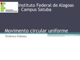 Movimento circular uniforme