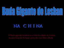 O Buda de Leshan