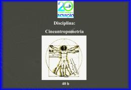 Cineantropometria Aplicada à Fiisioterapia
