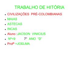 TRABALHO DE HITORIA