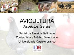 AVICULTURA Aspectos Gerais