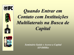 Apresentação Luiz Antonio Funcia