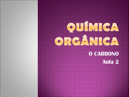 Química Orgânica - Cursinho Vitoriano