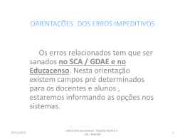 Power Point - Diretoria Norte 2