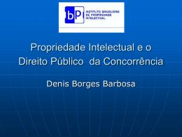 PI e direito Público da concorrência