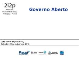 Governo Aberto