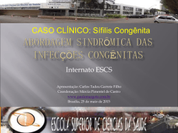 Sífilis Congênita - Paulo Roberto Margotto