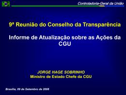 09 - AcoesCGU_JorgeHage - Controladoria