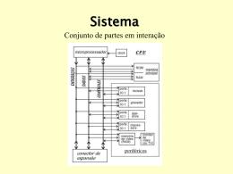 Sistema Conjunto de partes em interação