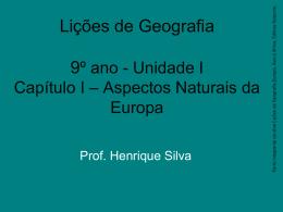 Europa - Prof. Henrique Silva