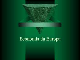 Economia da Europa slides 9 ano