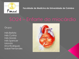 SO24 – Enfarte do miocárdio