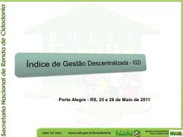 Apresentação índice de gestão descentralizada