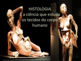 HISTOLOGIA É a ciência que estuda os tecidos do corpo humano