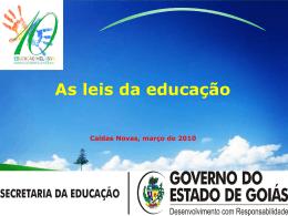 educação inclusiva - Secretaria da Educação do Estado de Goiás