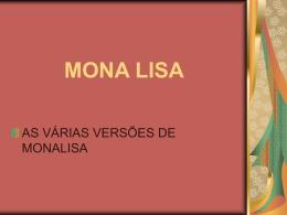 MONA LISA - leidisampaio