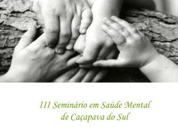 Slide 1 - Prefeitura Municipal de Cacapava do Sul