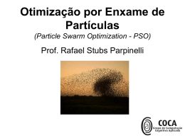 Particle Swarm Optimization - PSO