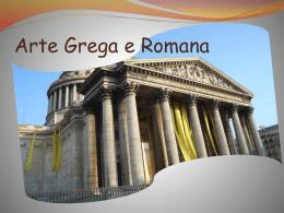 Arte grega e Romana